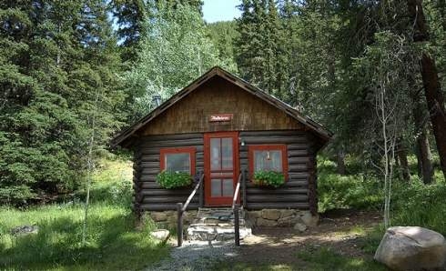 The rustic hunting cabin in our sights for Hunting camp plans