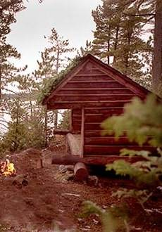 Pitched Roof Cabin