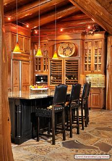 log cabin home decor
