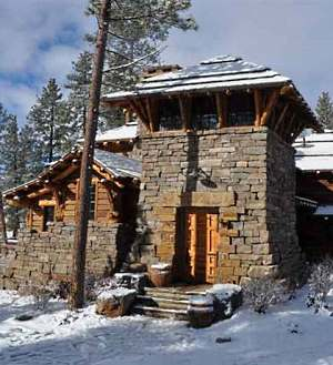 Log Cabin Home Designs Employing Post And Beam Monumental Magnificence