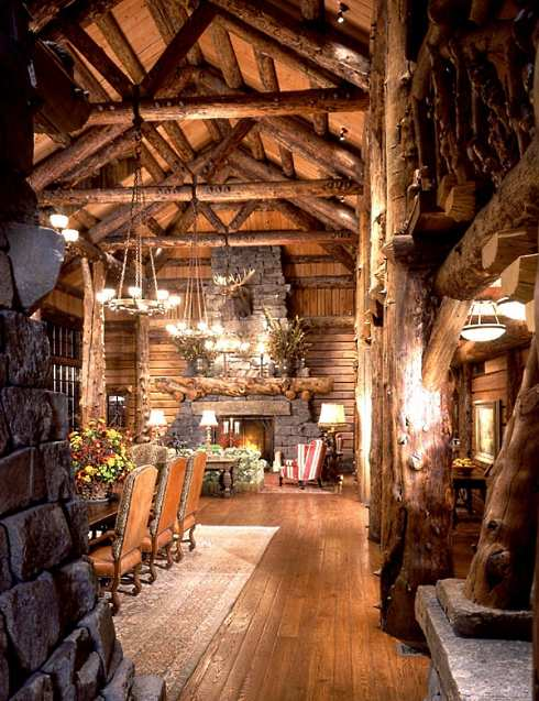 Standout Cabin Designs : Log cabin home designs monumental magnificence