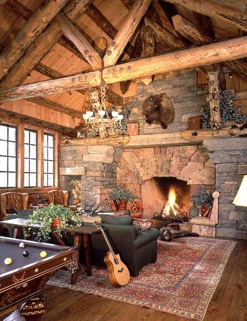 log cabin home designs