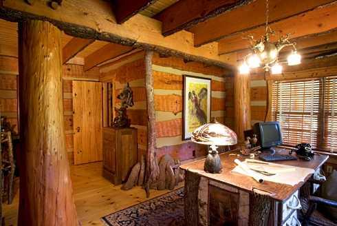 log cabin home plans