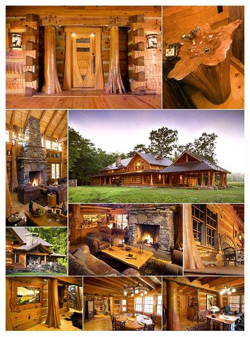 Standout Cabin Designs : Extraordinary log cabin houses big bold and beautiful