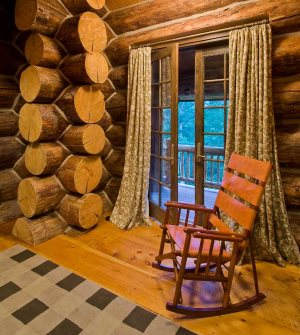 Log Cabin Interior Design . . . An Extraordinary Rustic Retreat!