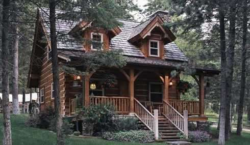 log cabin pictures