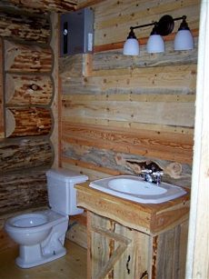 log cabin style mobile homes