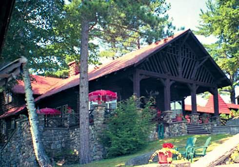 rustic adirondack cabin