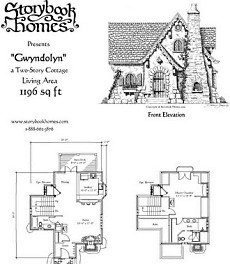 Small Cottage Plans small cottage floor plan rendering autum place Small Cabin Plans