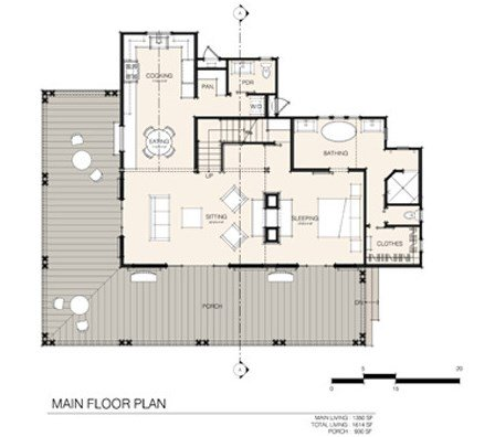 Small farmhouse plans cozy country getaways Small farm plans layout
