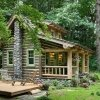 The Small Log Cabin Simply Serene