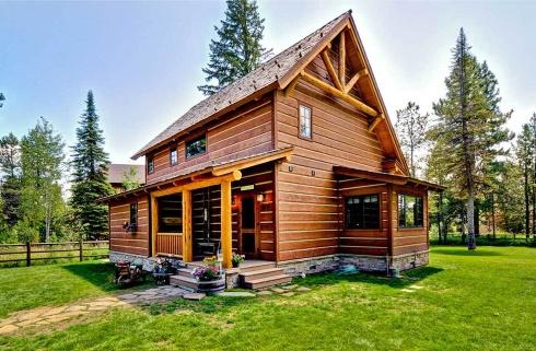 Small Log Home Plans