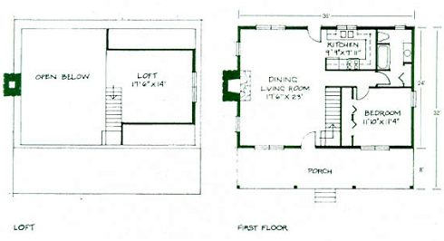 Small log cabin plans refreshing rustic retreats for Log cabin layout plans