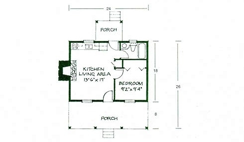 Small log cabin plans refreshing rustic retreats for One room log cabin designs