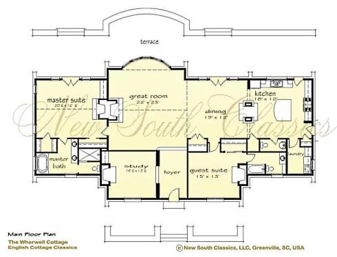 Storybook cottage house plans hobbit huts to cottage Storybook cottages floor plans