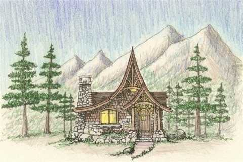 Storybook Cottage House PlansHobbit Huts to Cottage Castles