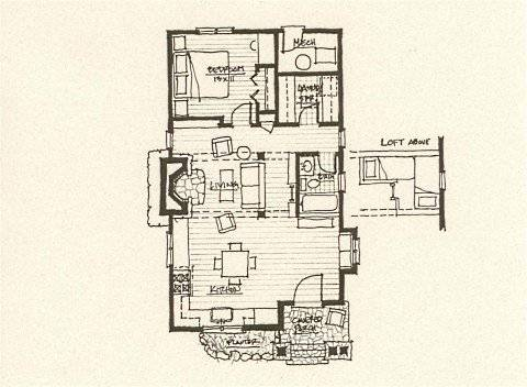 Storybook Cottage House Plans...Hobbit Huts to Cottage Castles! on hunting cabin floor plans and designs, chalet kitchen designs, chalet bungalow designs, ski chalet home designs, ski chalet style cabin designs,