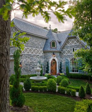 Storybook Home Plans Old World Styling For Modern