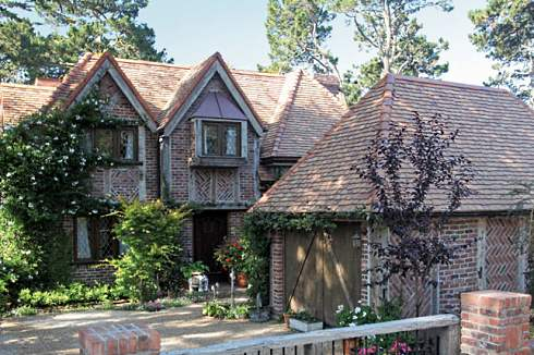 Storybook home plans old world styling for modern for Cottage style roof design