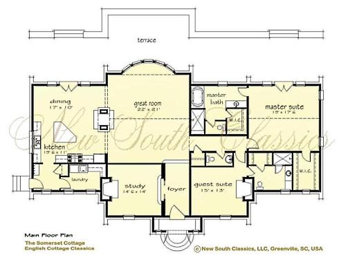 Storybook house plans cozy country cottages for Storybook homes plans